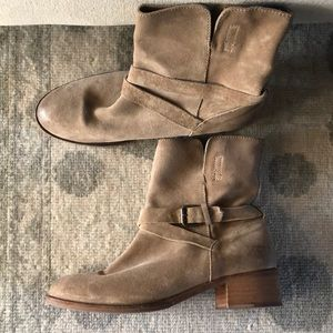 J crew leather boots